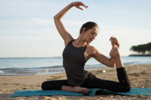 Chicago's Lakefront Trail: Beach Yoga