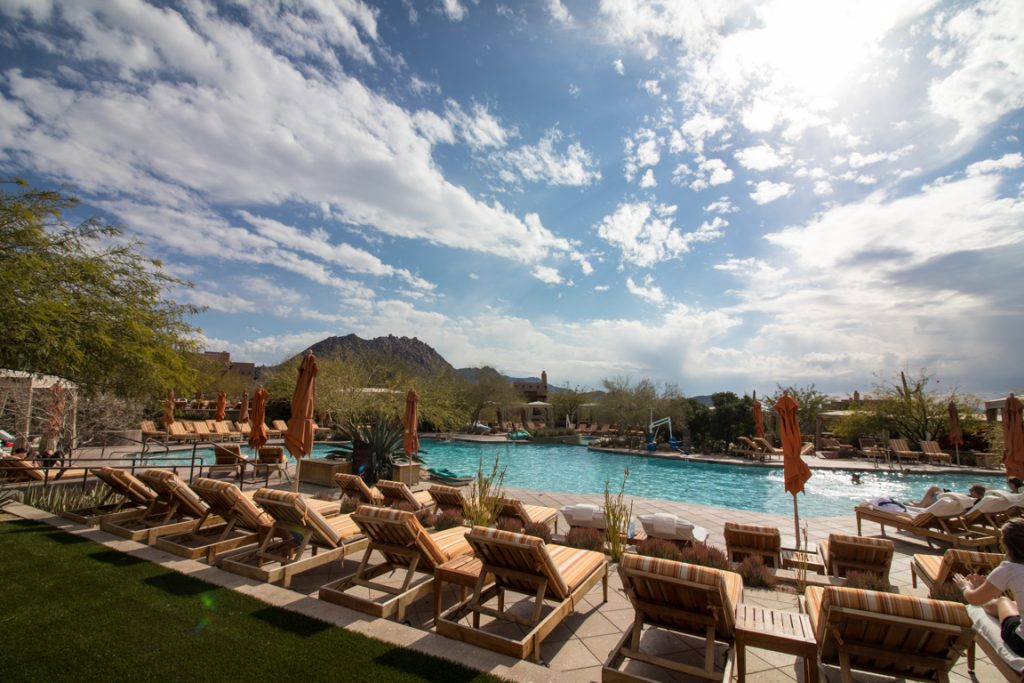 Four Seasons Scottsdale pool