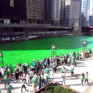 St. Patricks Chicago River