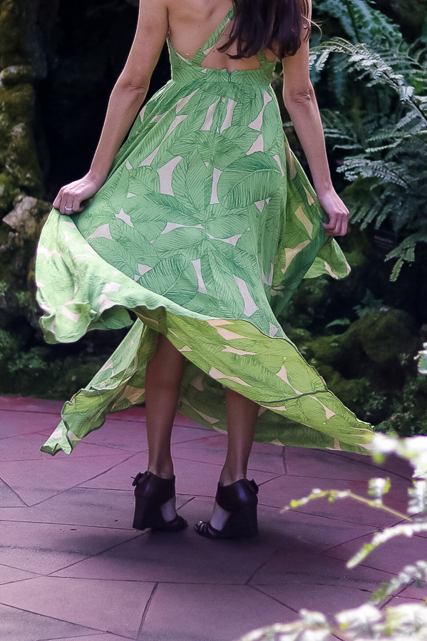 Palm Tree Dress Urban Outfitters 2017