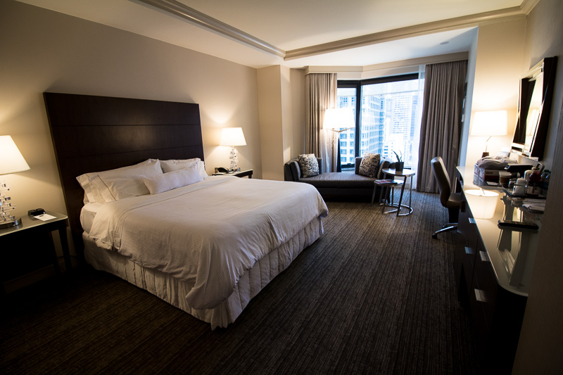 Westin Chicago River North Hotel Room