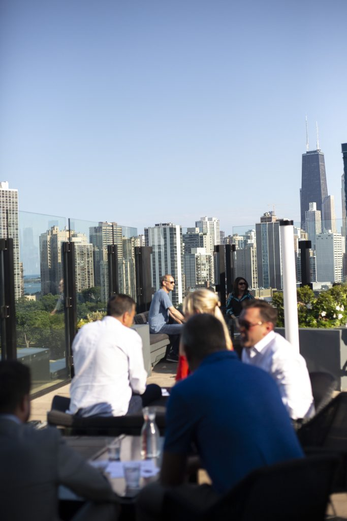 J Parker Chicago Rooftop Bar