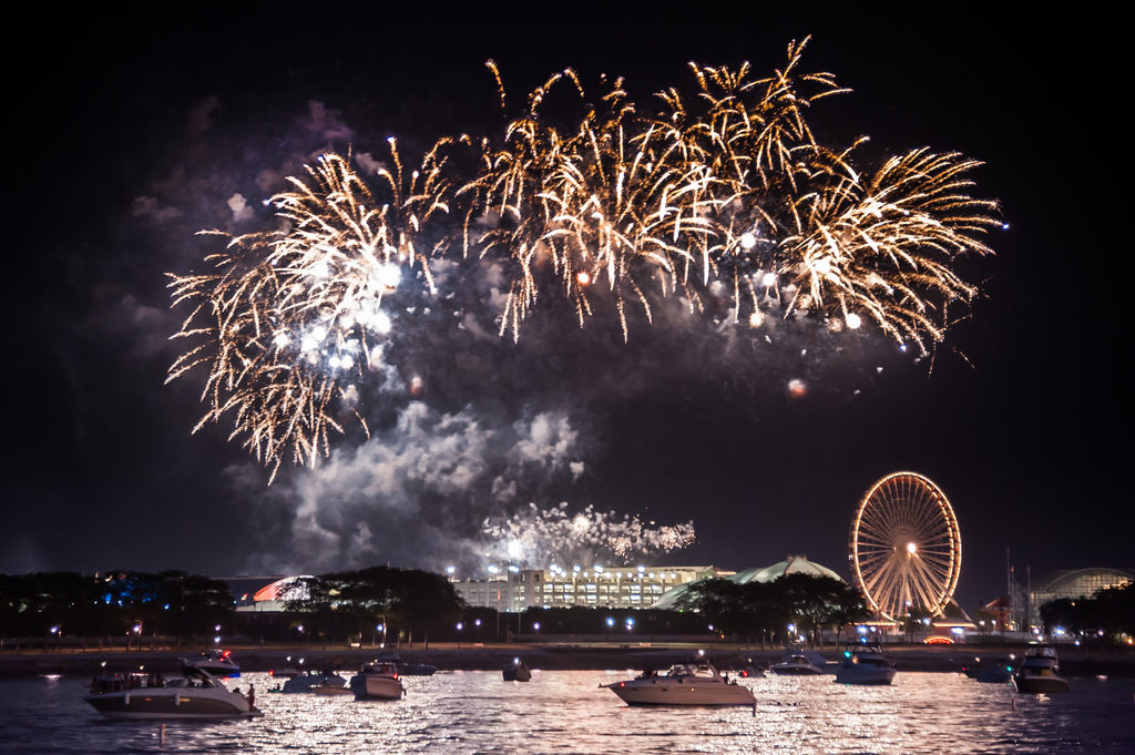 Navy Pier Fireworks Things to do in Chicago Wednesday