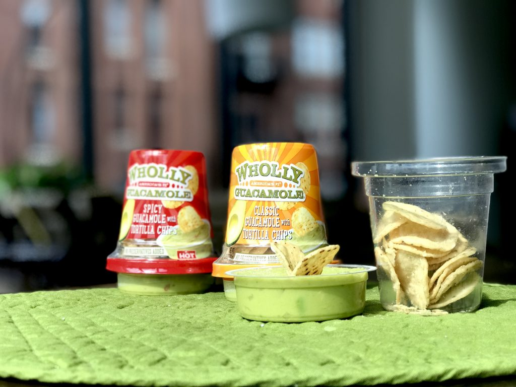 Wholly Guacamole Snack Cups Chicago