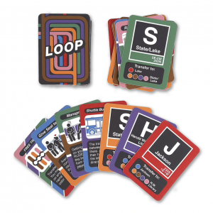 Chicago themed holiday gift idea card game