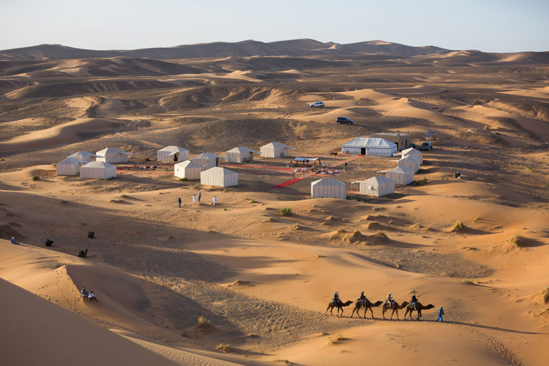 Sahara Desert Camp in Morocco