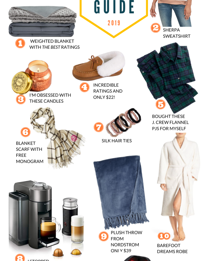 COZY GIFT GUIDE HEY LIZZY FAY